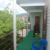 Балкон в гостевом доме Лоо